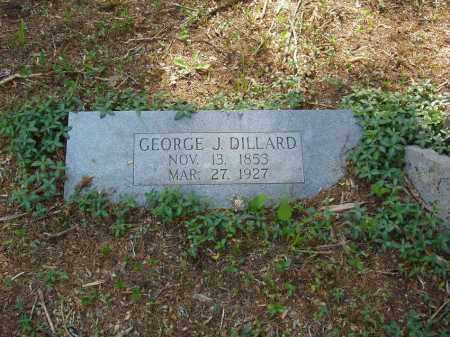 DILLARD, GEORGE J - Izard County, Arkansas | GEORGE J DILLARD - Arkansas Gravestone Photos