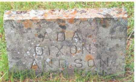 DIXON, ADA - Izard County, Arkansas | ADA DIXON - Arkansas Gravestone Photos