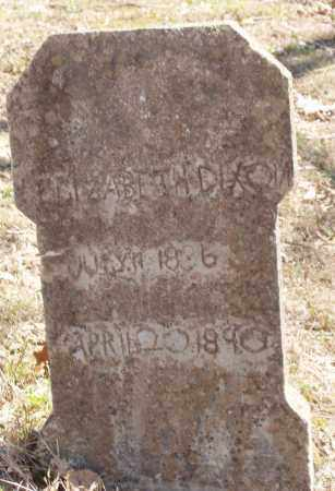 GENTRY DIXON, ELIZABETH C - Izard County, Arkansas | ELIZABETH C GENTRY DIXON - Arkansas Gravestone Photos