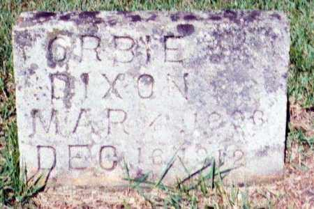 DIXON, ORBIE - Izard County, Arkansas | ORBIE DIXON - Arkansas Gravestone Photos