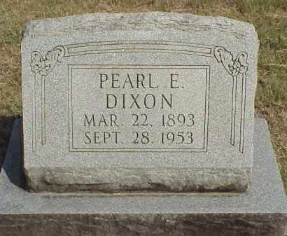 BROOKS DIXON, PEARL EUGENIA - Izard County, Arkansas | PEARL EUGENIA BROOKS DIXON - Arkansas Gravestone Photos