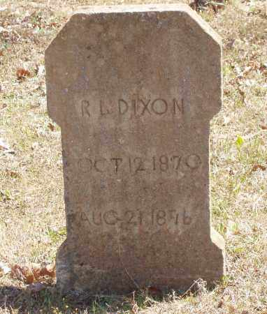 DIXON, ROBERT LEE - Izard County, Arkansas | ROBERT LEE DIXON - Arkansas Gravestone Photos