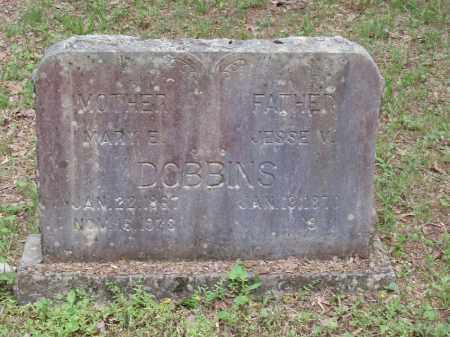 DOBBINS, JESSE VINCENT - Izard County, Arkansas | JESSE VINCENT DOBBINS - Arkansas Gravestone Photos