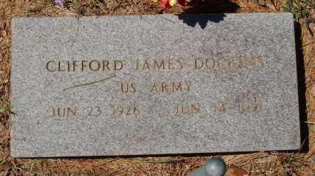 DOCKINS  (VETERAN), CLIFFORD JAMES - Izard County, Arkansas | CLIFFORD JAMES DOCKINS  (VETERAN) - Arkansas Gravestone Photos