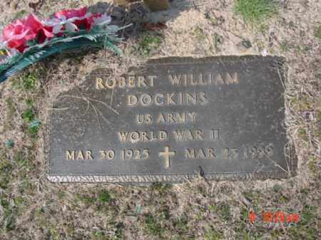 DOCKINS  (VETERAN WWII), ROBERT WILLIAM - Izard County, Arkansas | ROBERT WILLIAM DOCKINS  (VETERAN WWII) - Arkansas Gravestone Photos