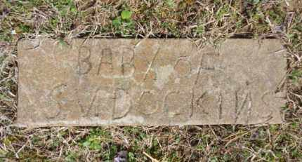 DOCKINS, JOHNNIE - Izard County, Arkansas | JOHNNIE DOCKINS - Arkansas Gravestone Photos