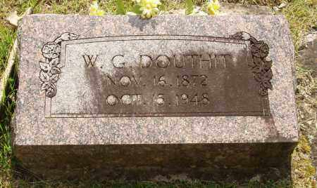 DOUTHIT, WILLIAM G - Izard County, Arkansas | WILLIAM G DOUTHIT - Arkansas Gravestone Photos