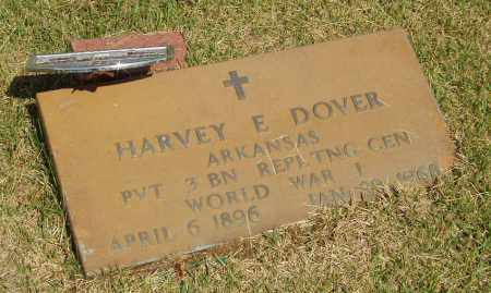 DOVER  (VETERAN WWI), HARVEY E - Izard County, Arkansas | HARVEY E DOVER  (VETERAN WWI) - Arkansas Gravestone Photos