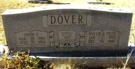 DOVER, WILLIE JANE - Izard County, Arkansas | WILLIE JANE DOVER - Arkansas Gravestone Photos