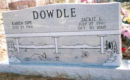 DOWDLE, JACKIE - Izard County, Arkansas | JACKIE DOWDLE - Arkansas Gravestone Photos