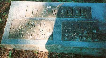 DOWDLE, JOHN B, - Izard County, Arkansas | JOHN B, DOWDLE - Arkansas Gravestone Photos