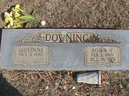 DOWNING, JOHN C. - Izard County, Arkansas | JOHN C. DOWNING - Arkansas Gravestone Photos