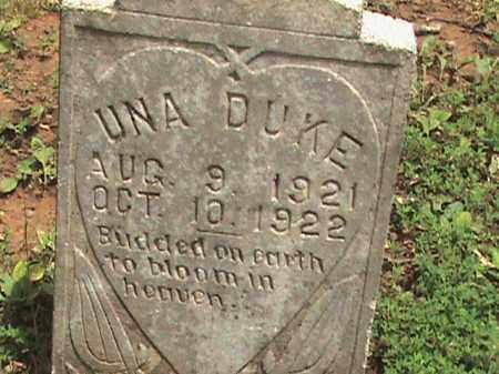 DUKE, UNA - Izard County, Arkansas | UNA DUKE - Arkansas Gravestone Photos