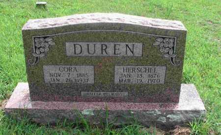 FINLEY DURAN, CORA BELL - Izard County, Arkansas | CORA BELL FINLEY DURAN - Arkansas Gravestone Photos