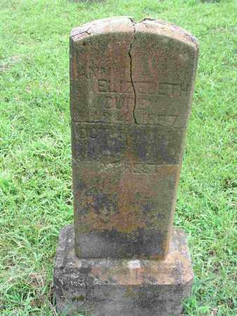 WILLIAMS DUREN, ANN ELIZABETH - Izard County, Arkansas | ANN ELIZABETH WILLIAMS DUREN - Arkansas Gravestone Photos