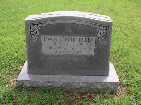 DUREN, EDWIN LITTLE - Izard County, Arkansas | EDWIN LITTLE DUREN - Arkansas Gravestone Photos