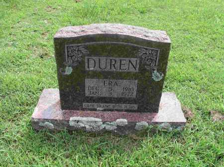 DUREN, ERA - Izard County, Arkansas | ERA DUREN - Arkansas Gravestone Photos