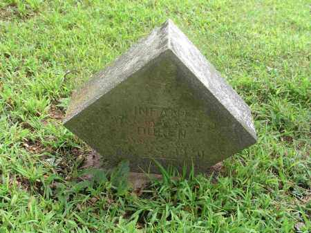 DUREN, INFANT DAUGHTER - Izard County, Arkansas | INFANT DAUGHTER DUREN - Arkansas Gravestone Photos