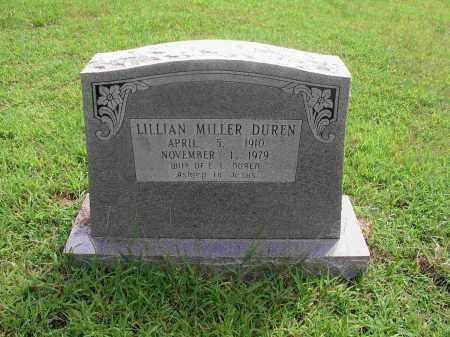 MILLER DUREN, LILLIAN BEATRICE - Izard County, Arkansas | LILLIAN BEATRICE MILLER DUREN - Arkansas Gravestone Photos