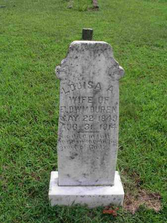 DUREN, LOUISA ALBERTINE - Izard County, Arkansas | LOUISA ALBERTINE DUREN - Arkansas Gravestone Photos