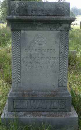 EDWARDS, C.W. - Izard County, Arkansas | C.W. EDWARDS - Arkansas Gravestone Photos