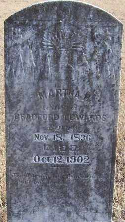 EDWARDS, MARTHA H. - Izard County, Arkansas | MARTHA H. EDWARDS - Arkansas Gravestone Photos