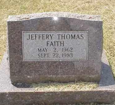 FAITH, JEFFERY THOMAS - Izard County, Arkansas   JEFFERY THOMAS FAITH - Arkansas Gravestone Photos