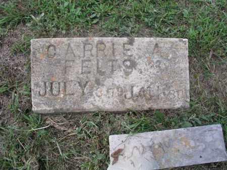 FELTS, CARRIE ALICE - Izard County, Arkansas | CARRIE ALICE FELTS - Arkansas Gravestone Photos