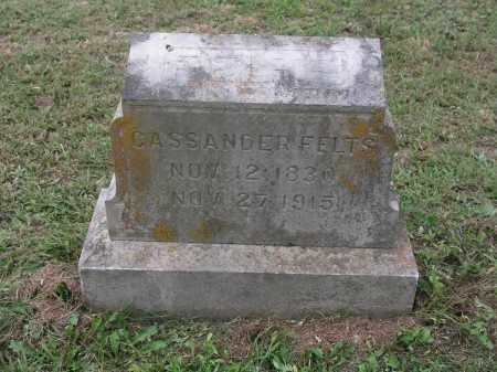 FELTS, CASSANDER - Izard County, Arkansas | CASSANDER FELTS - Arkansas Gravestone Photos