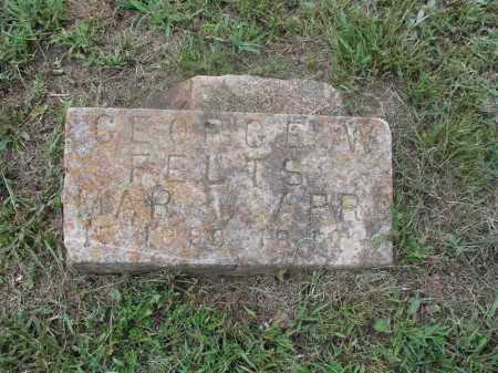 FELTS, GEORGE W. - Izard County, Arkansas | GEORGE W. FELTS - Arkansas Gravestone Photos