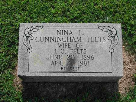 FELTS, NINA L. - Izard County, Arkansas | NINA L. FELTS - Arkansas Gravestone Photos