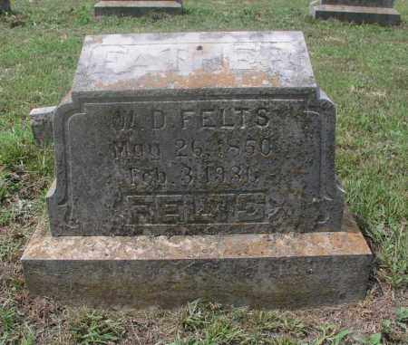 FELTS, WILLIAM DANIEL - Izard County, Arkansas | WILLIAM DANIEL FELTS - Arkansas Gravestone Photos
