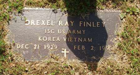 FINLEY  (VETERAN 2 WARS), DREXEL RAY - Izard County, Arkansas | DREXEL RAY FINLEY  (VETERAN 2 WARS) - Arkansas Gravestone Photos