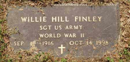 FINLEY  (VETERAN WWII), WILLIE HILL - Izard County, Arkansas | WILLIE HILL FINLEY  (VETERAN WWII) - Arkansas Gravestone Photos