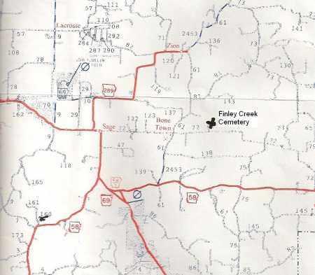 *, FINLEY CREEK CEMETERY MAP - Izard County, Arkansas | FINLEY CREEK CEMETERY MAP * - Arkansas Gravestone Photos