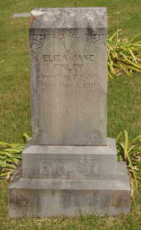TAYLOR FINLEY, ELIZA JANE - Izard County, Arkansas | ELIZA JANE TAYLOR FINLEY - Arkansas Gravestone Photos