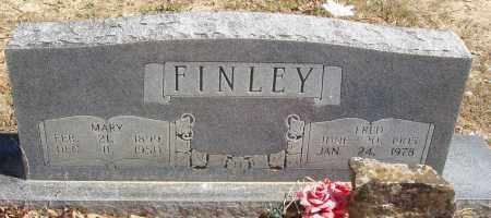 FINLEY, FRED - Izard County, Arkansas | FRED FINLEY - Arkansas Gravestone Photos
