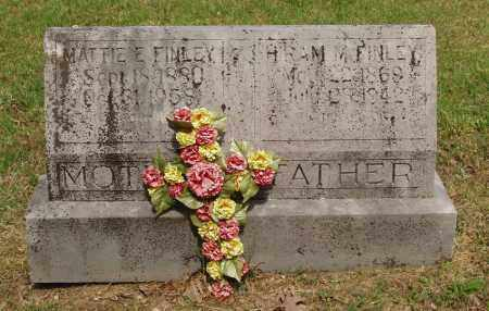 "FINLEY, MARTHA ""MATTIE"" E - Izard County, Arkansas 