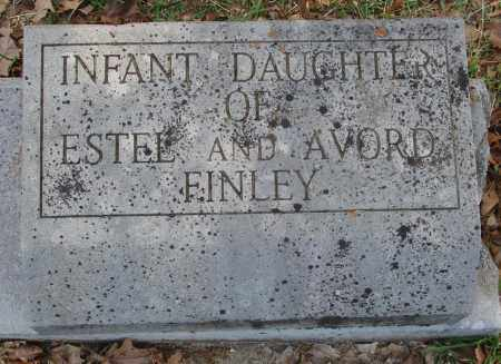 FINLEY, INFANT DAUGHTER - Izard County, Arkansas | INFANT DAUGHTER FINLEY - Arkansas Gravestone Photos
