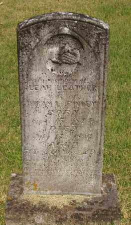 FINLEY, LEAH LEATHER - Izard County, Arkansas | LEAH LEATHER FINLEY - Arkansas Gravestone Photos