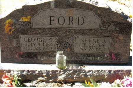 FORD, NETTIE JANE - Izard County, Arkansas | NETTIE JANE FORD - Arkansas Gravestone Photos