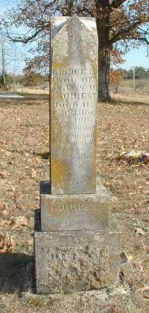 FORREST, LOCHIE L. - Izard County, Arkansas | LOCHIE L. FORREST - Arkansas Gravestone Photos