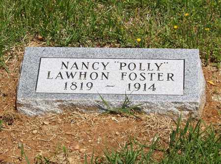 "LAWHON FOSTER, NANCY ""POLLY"" - Izard County, Arkansas 
