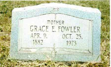 FOWLER, GRACE E. - Izard County, Arkansas | GRACE E. FOWLER - Arkansas Gravestone Photos