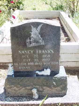 FRANKS, NANCY - Izard County, Arkansas | NANCY FRANKS - Arkansas Gravestone Photos