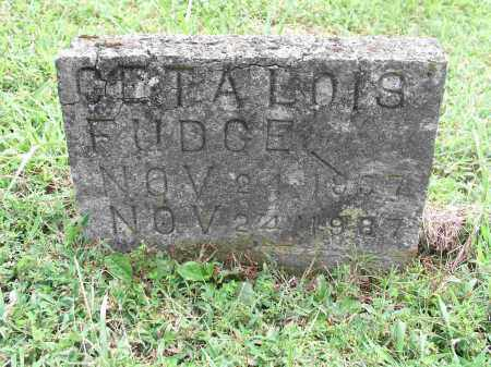 FUDGE, GETA LOIS - Izard County, Arkansas | GETA LOIS FUDGE - Arkansas Gravestone Photos