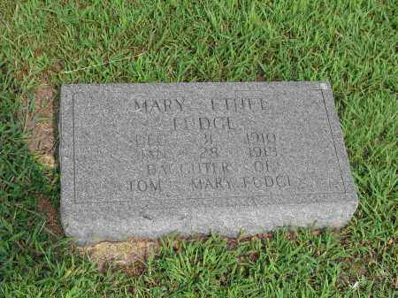 FUDGE, MARY ETHEL - Izard County, Arkansas | MARY ETHEL FUDGE - Arkansas Gravestone Photos
