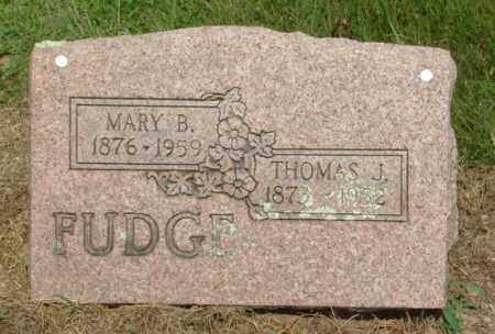 FUDGE, THOMAS JEFFERSON - Izard County, Arkansas | THOMAS JEFFERSON FUDGE - Arkansas Gravestone Photos