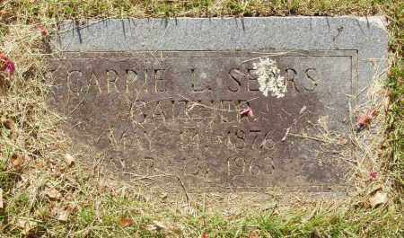 SEARS GAITHER, CARRIE L - Izard County, Arkansas | CARRIE L SEARS GAITHER - Arkansas Gravestone Photos