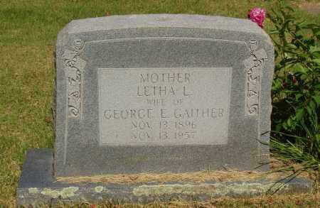 GAITHER, LETHA L - Izard County, Arkansas | LETHA L GAITHER - Arkansas Gravestone Photos